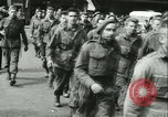 Image of Allied prisoners marched in Paris Paris France, 1944, second 36 stock footage video 65675021799