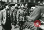 Image of Allied prisoners marched in Paris Paris France, 1944, second 40 stock footage video 65675021799