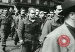 Image of Allied prisoners marched in Paris Paris France, 1944, second 42 stock footage video 65675021799