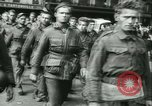 Image of Allied prisoners marched in Paris Paris France, 1944, second 45 stock footage video 65675021799