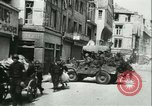 Image of German troops in Caen Caen France, 1944, second 21 stock footage video 65675021809
