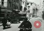 Image of German troops in Caen Caen France, 1944, second 23 stock footage video 65675021809