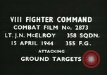 Image of VIII Fighter Command Germany, 1944, second 2 stock footage video 65675021811