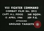 Image of VIII Fighter Command Germany, 1944, second 2 stock footage video 65675021812