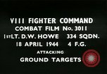Image of VIII Fighter Command Germany, 1944, second 1 stock footage video 65675021813