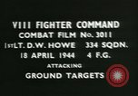 Image of VIII Fighter Command Germany, 1944, second 4 stock footage video 65675021813