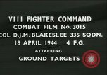 Image of VIII Fighter Command Germany, 1944, second 1 stock footage video 65675021815
