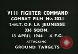 Image of VIII Fighter Command Germany, 1944, second 2 stock footage video 65675021816