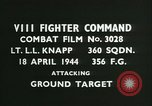 Image of VIII Fighter Command Germany, 1944, second 2 stock footage video 65675021818
