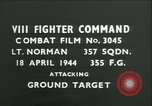 Image of VIII Fighter Command Germany, 1944, second 1 stock footage video 65675021822