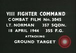 Image of VIII Fighter Command Germany, 1944, second 3 stock footage video 65675021822