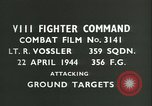 Image of VIII Fighter Command Germany, 1944, second 2 stock footage video 65675021826