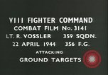 Image of VIII Fighter Command Germany, 1944, second 3 stock footage video 65675021826