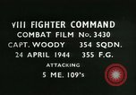 Image of VIII Fighter Command Germany, 1944, second 1 stock footage video 65675021831