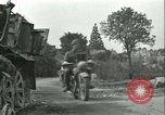 Image of French 2nd Armored Division Alencon France, 1944, second 32 stock footage video 65675021856