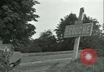 Image of French 2nd Armored Division Alencon France, 1944, second 40 stock footage video 65675021856