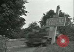Image of French 2nd Armored Division Alencon France, 1944, second 42 stock footage video 65675021856