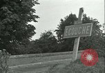 Image of French 2nd Armored Division Alencon France, 1944, second 46 stock footage video 65675021856