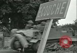 Image of French 2nd Armored Division Alencon France, 1944, second 50 stock footage video 65675021856