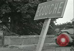 Image of French 2nd Armored Division Alencon France, 1944, second 51 stock footage video 65675021856