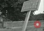 Image of French 2nd Armored Division Alencon France, 1944, second 54 stock footage video 65675021856