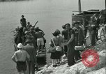 Image of Ferry boats France, 1944, second 38 stock footage video 65675021857