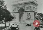 Image of German occupation of Paris and later liberation by Allies Paris France, 1944, second 21 stock footage video 65675021864