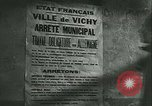 Image of German occupation of Paris and later liberation by Allies Paris France, 1944, second 31 stock footage video 65675021864