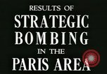 Image of World War 2 Allied bombing effects in France Paris France, 1945, second 2 stock footage video 65675021871