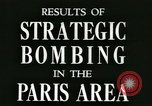 Image of World War 2 Allied bombing effects in France Paris France, 1945, second 3 stock footage video 65675021871
