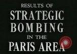 Image of World War 2 Allied bombing effects in France Paris France, 1945, second 8 stock footage video 65675021871