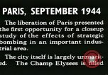 Image of World War 2 Allied bombing effects in France Paris France, 1945, second 9 stock footage video 65675021871