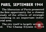 Image of World War 2 Allied bombing effects in France Paris France, 1945, second 13 stock footage video 65675021871