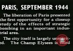 Image of World War 2 Allied bombing effects in France Paris France, 1945, second 14 stock footage video 65675021871