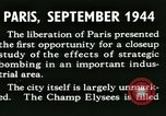 Image of World War 2 Allied bombing effects in France Paris France, 1945, second 15 stock footage video 65675021871