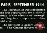 Image of World War 2 Allied bombing effects in France Paris France, 1945, second 16 stock footage video 65675021871