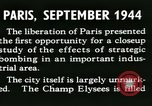 Image of World War 2 Allied bombing effects in France Paris France, 1945, second 17 stock footage video 65675021871