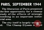 Image of World War 2 Allied bombing effects in France Paris France, 1945, second 18 stock footage video 65675021871