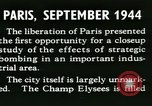Image of World War 2 Allied bombing effects in France Paris France, 1945, second 19 stock footage video 65675021871