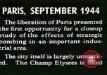 Image of World War 2 Allied bombing effects in France Paris France, 1945, second 20 stock footage video 65675021871