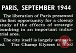 Image of World War 2 Allied bombing effects in France Paris France, 1945, second 22 stock footage video 65675021871