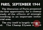 Image of World War 2 Allied bombing effects in France Paris France, 1945, second 24 stock footage video 65675021871