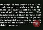 Image of World War 2 Allied bombing effects in France Paris France, 1945, second 49 stock footage video 65675021871