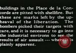 Image of World War 2 Allied bombing effects in France Paris France, 1945, second 50 stock footage video 65675021871