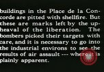 Image of World War 2 Allied bombing effects in France Paris France, 1945, second 52 stock footage video 65675021871