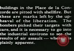 Image of World War 2 Allied bombing effects in France Paris France, 1945, second 53 stock footage video 65675021871