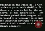 Image of World War 2 Allied bombing effects in France Paris France, 1945, second 54 stock footage video 65675021871