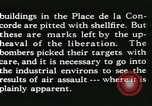 Image of World War 2 Allied bombing effects in France Paris France, 1945, second 55 stock footage video 65675021871