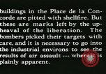 Image of World War 2 Allied bombing effects in France Paris France, 1945, second 56 stock footage video 65675021871