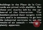 Image of World War 2 Allied bombing effects in France Paris France, 1945, second 58 stock footage video 65675021871